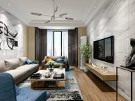 万科悦湾现代简约风格装修案例 万科悦湾设计在建工地参观