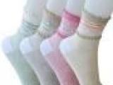 批发2014梦娜休闲女士薄棉袜子B7221 纯棉超薄甜美女袜 春