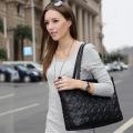 2014新款 应季欧美风品牌女包 时尚菱格软面手提单肩包批发80