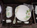 景德镇陶瓷餐具定制,骨质瓷,高白瓷陶瓷餐具,酒店餐具套装