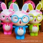 卡通便携迷你超萌咪啡兔子风扇儿童风扇 夏季手持风扇 小萌兔风扇