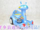 2013新款小骑士5858双电机儿童室内电动瓦力车