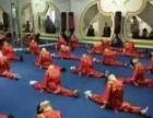武术锻炼孩子身体,磨练孩子毅力。