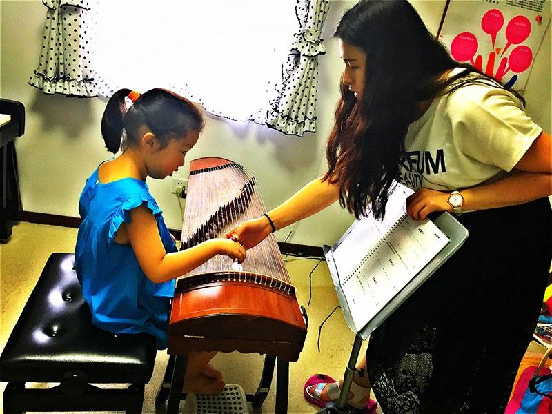 朝阳大悦城专业儿童古筝培训自主研发儿童古筝教程-筝流行
