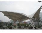 黄山市膜结构车棚设计.停车棚膜结构造价多钱一米