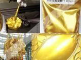 厂家供应999K金黄金粉 佛像用1000目高亮度金粉