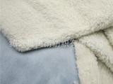 现货供应环保染色服装布料经编麂皮绒复合舒棉绒、棉花绒、羊羔绒