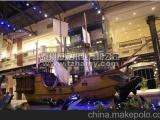 纯手工各种木船贡多拉船画舫船景观装饰船单亭船乌篷船