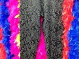 伊琳诗雨6036  高腰中厚羊毛保暖裤