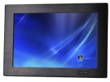 12寸触摸一体机宽屏前置开关工业平板电脑