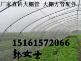 安徽合肥包河大棚骨架 镀锌管草莓蘑菇大棚管树苗大棚管