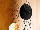 挂钩帽子挂架 台式帽子展示架 旋转帽子架  帽子架定制生产开发