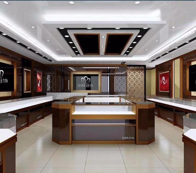 许昌展柜厂专业定制珠宝展柜 服装展柜 吧台 烟酒柜等