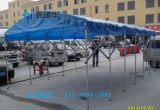 大型仓库帐篷遮阳折叠棚夜宵烧烤棚活动推拉蓬雨棚大排档推拉雨棚