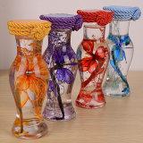 精美玻璃仿真花瓶 入油式标本植物家居房间装饰 义乌小商品批发