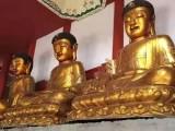 北京佛像贴金箔观音菩萨贴金铜像贴金