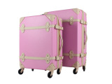 万向轮韩国正品复古旅行箱拉杆箱女皮箱行李箱新娘结婚子母箱