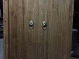 老榆木松木别墅庭院大门进户门老木门仿古中式院门