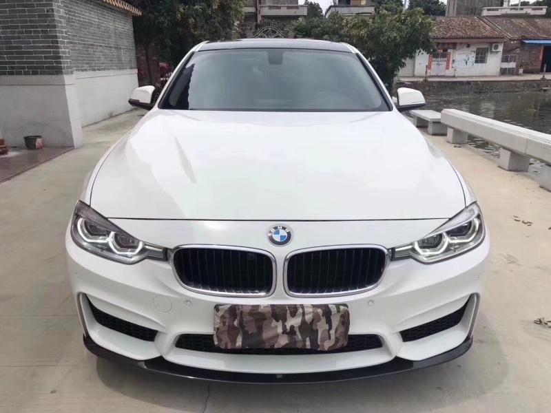 粤户16年新款宝马320Li
