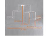 供应有机玻璃架 亚克力有机玻璃透明展示架 压克力产品