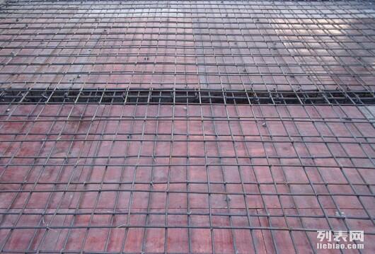 专业现浇复式阁楼顶层浇筑双层纵向横向钢筋混凝土隔音