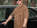 唐依容100%桑蚕丝真丝香云纱莨绸短袖上衣男士立领真丝衬衫中老年