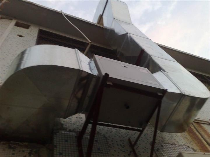 宁夏酒店后厨通排风设计安装