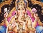 十字绣印度象鼻财神