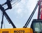 急需处理二手闲置抚顺50吨履带吊 三一50吨 70吨履带吊