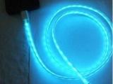 三星 流光数据线 发光充电线 USB闪光
