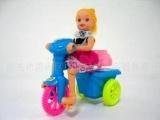 拉线美少女三轮车玩具礼品