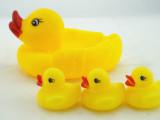 安全环保 大号大黄鸭 婴儿戏水鸭 发声玩具  宝宝益智洗澡玩具