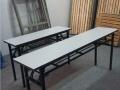 合肥厂家批发供应折叠长条桌会议桌椅培训桌