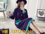 鞍山地摊热销毛衣货源厂家直销一手服装利润超高女式手工编织毛衣