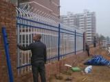 锌钢护栏 双向弯围栏 小区护栏 厂区围墙护栏