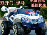 电动车厂家最新款 超大越野悍马 四轮减震双电 双驱儿童电动汽车