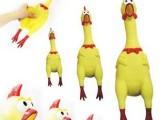 发泄减压挤压玩具惨叫公鸡 搞怪鸡 发泄鸡 怪叫鸡 惨叫火鸡 大号