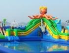 支架水池移动水上乐园陆地水上闯关水上漂浮配套水滑梯充气城堡