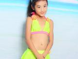 外贸payasen新款宝宝女童泳衣小中童泳装比基尼分体裙式儿童泳