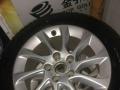 奥迪A3原厂轮毂加马牌雪地胎出售