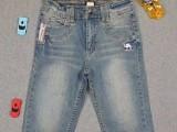 巴拉巴拉低价童装牛仔长裤品牌尾货库存批发