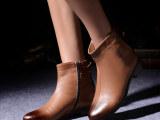 2014冬季新款 短靴 欧美英伦潮流时尚真皮马丁靴女靴