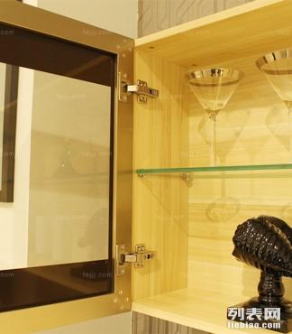 玻璃窗板架挂柜 梧州简约家具 凭祥北欧家具