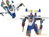 暴风鹰8016 塑料拼装小颗粒 儿童积木玩具 批发代发