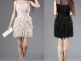 品牌女装精品张柏芝同款明星同款连衣裙2011网络爆款中长款