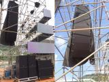 鄭州超低價出租LED顯示屏燈光音響 舞臺搭建 桁架背景