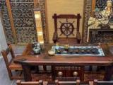 张家界老船木家具特价船木方桌茶几茶台桌椅组合批发实木功夫客厅茶几