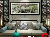 郑州手工刺绣装饰画,价格优惠免费上门安装