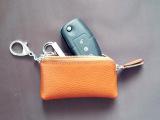 韩版创意钥匙包 糖果色真皮钥匙包迷你零钱包厂家直销