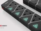 智能排插设计 智能插座设计 产品外观设计 结构设计 插座外观设计